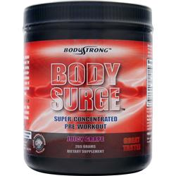 BODYSTRONG Body Surge - Super Concentrated Pre-Workout Juicy Grape 265 grams