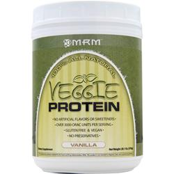 MRM Veggie Protein - 100% All Natural Vanilla 20.1 oz