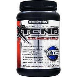 SCIVATION Xtend Intra-Workout Catalyst Raspberry Blue 1188 grams