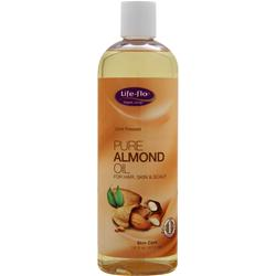 LIFE-FLO Pure Almond Oil 16 fl.oz