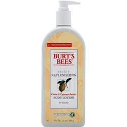 BURT'S BEES Body Lotion Richly Replenishing 12 oz