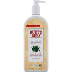 Burt's Bees Body Lotion Soothingly Sensitive 12 oz