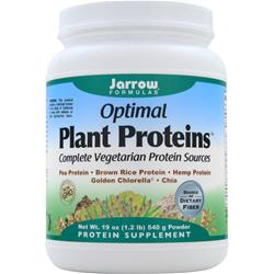 Jarrow Optimal Plant Proteins 1.2 lbs