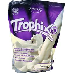 SYNTRAX Trophix 5.0 - Ultra Sustained Release Protein Creamy Vanilla 5 lbs
