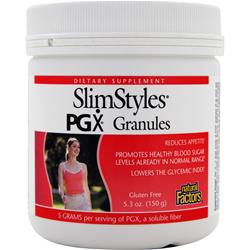 Natural Factors SlimStyles PGX Granules 5.3 oz