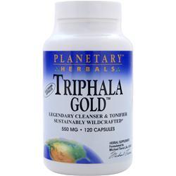 PLANETARY FORMULAS Triphala Gold (550mg) 120 caps