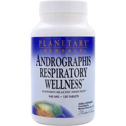 Planetary Formulas Andrographis Respiratory Wellness 120 tabs