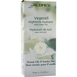 AUBREY Vegecell Nighttime Hydrator with Green Tea 1 fl.oz