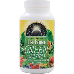 SOURCE NATURALS Life Force Green Multiple 90 tabs