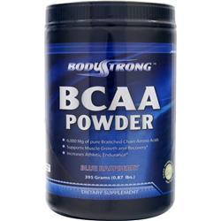 BodyStrong BCAA Powder Blue Raspberry 395 grams