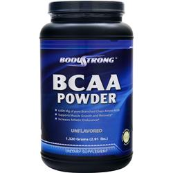 BODYSTRONG BCAA Powder Unflavored 1320 grams