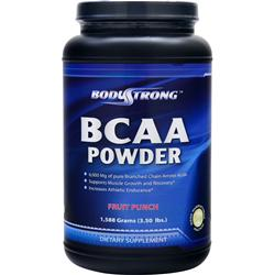 BODYSTRONG BCAA Powder Fruit Punch 1588 grams