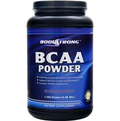 BODYSTRONG BCAA Powder Blue Raspberry 1582 grams