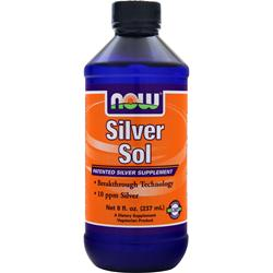 NOW Silver Sol Liquid 8 fl.oz