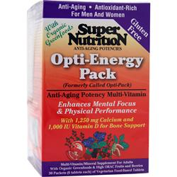 SUPER NUTRITION Opti-Energy Pack 30 pckts