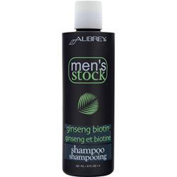 AUBREY Men's Stock Ginseng Biotin Shampoo 8 fl.oz