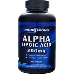 BodyStrong Alpha Lipoic Acid (200mg) 180 caps