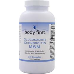 BODY FIRST Glucosamine Chondroitin MSM 240 caps