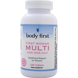 Body First First Woman Multi (One-Per-Day) 240 tabs