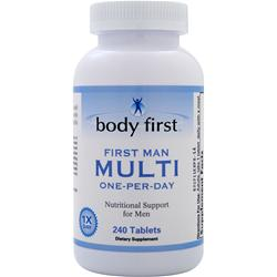Body First First Man Multi (One-Per-Day) 240 tabs