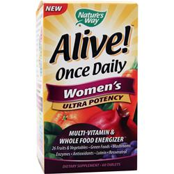 NATURE'S WAY Alive Once Daily Women's Ultra Potency 60 tabs