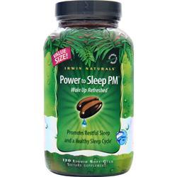 Irwin Naturals Power to Sleep PM 120 sgels
