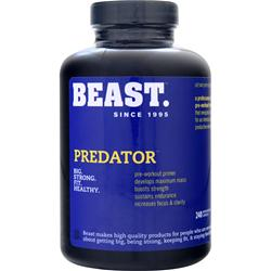 BEAST SPORTS NUTRITION Predator 240 caps