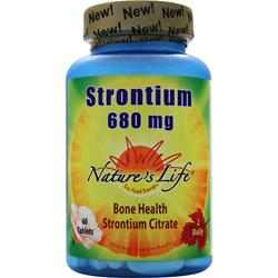 Nature's Life Strontium (680mg) 60 tabs