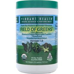 VIBRANT HEALTH Field of Greens 7.51 oz