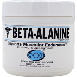 CTD Beta-Alanine Powder 500 grams