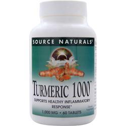 Source Naturals Turmeric 1000 60 tabs