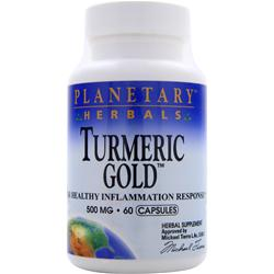PLANETARY FORMULAS Turmeric Gold (500mg) 60 caps