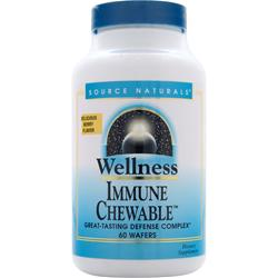 SOURCE NATURALS Wellness Immune Chewable 60 wafrs