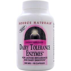 Source Naturals Dairy Tolerance Enzymes 90 caps