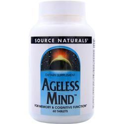 SOURCE NATURALS Ageless Mind 60 tabs