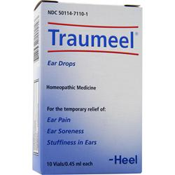 Heel Traumeel Ear Drops 10 vials