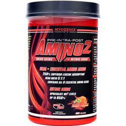 MYOGENIX Amino2 Fruit Punch 420 grams