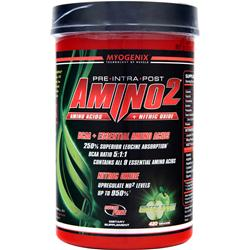 MYOGENIX Amino2 Green Apple 420 grams