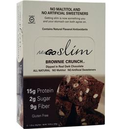 NUGO NUTRITION Slim Bar Brownie Crunch 12 bars