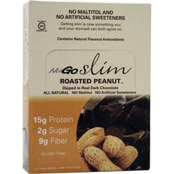 NUGO NUTRITION Slim Bar Roasted Peanut 12 bars