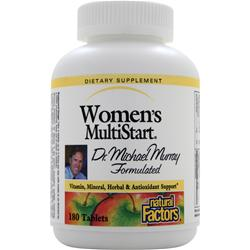 NATURAL FACTORS Women's MultiStart 180 tabs