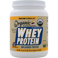 Jarrow Whey Protein - Organic Unflavored 16 oz