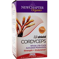 NEW CHAPTER Organics - Life Shield Cordyceps 60 vcaps