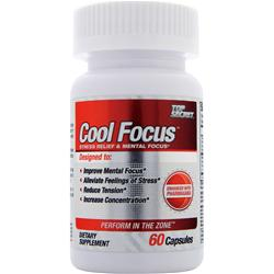 TOP SECRET NUTRITION Cool Focus 60 caps