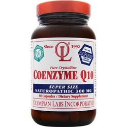 OLYMPIAN LABS Coenzyme Q10 Super Size Naturopathic (300mg) 60 caps