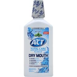 CHATTEM ACT Total Care Anticavity Flouride Rinse Dry Mouth 33.8 fl.oz