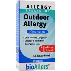 BIOALLERS Allergy Treatment - Outdoor Allergy 60 tabs