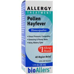 Bioallers Allergy Treatment - Pollen Hayfever 1 fl.oz