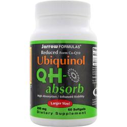 JARROW Ubiquinol QH-absorb (200mg) 60 sgels