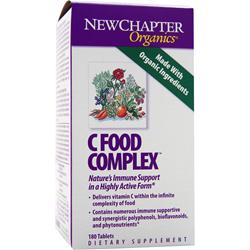 NEW CHAPTER C Food Complex 180 tabs